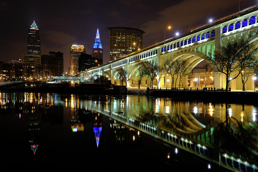 Cleveland after Dusk by Clint Buhler