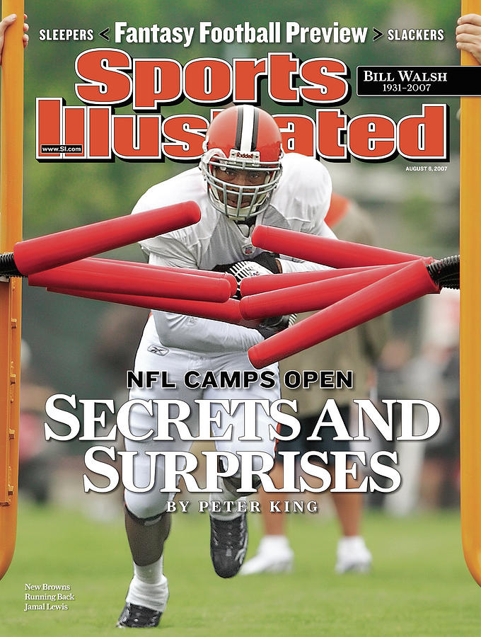 Cleveland Browns Jamal Lewis... Sports Illustrated Cover Photograph by Sports Illustrated