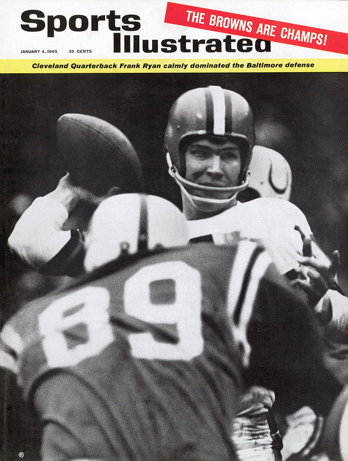 Cleveland Browns Jim Brown, 1964 Nfl Championship Sports Illustrated Cover Photograph by Sports Illustrated