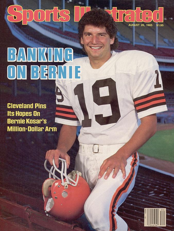 Cleveland Browns Qb Bernie Kosar Sports Illustrated Cover Photograph by Sports Illustrated
