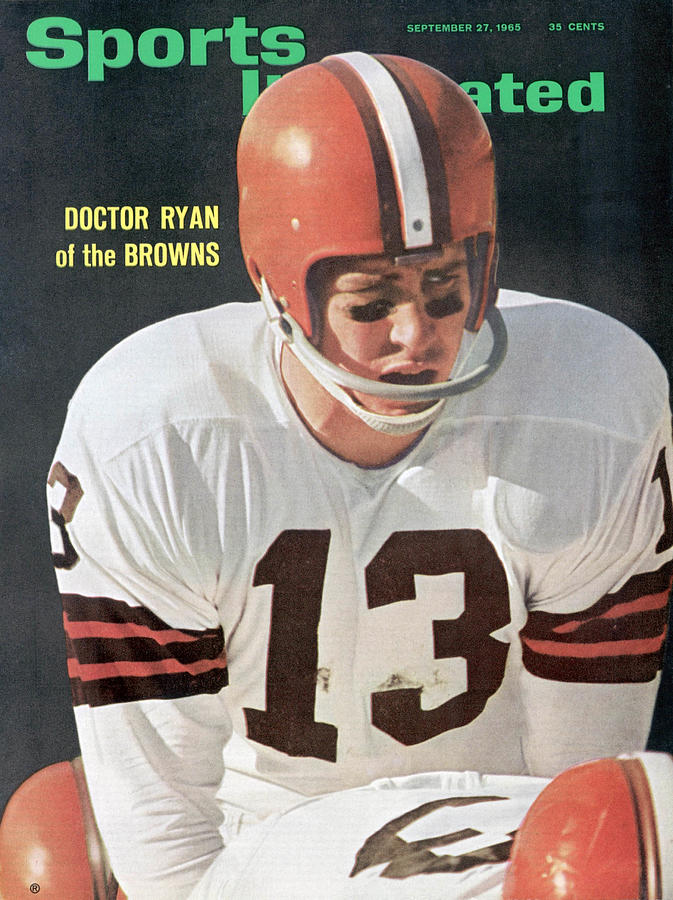 Cleveland Browns Qb Frank Doctor Ryan Sports Illustrated Cover Photograph by Sports Illustrated