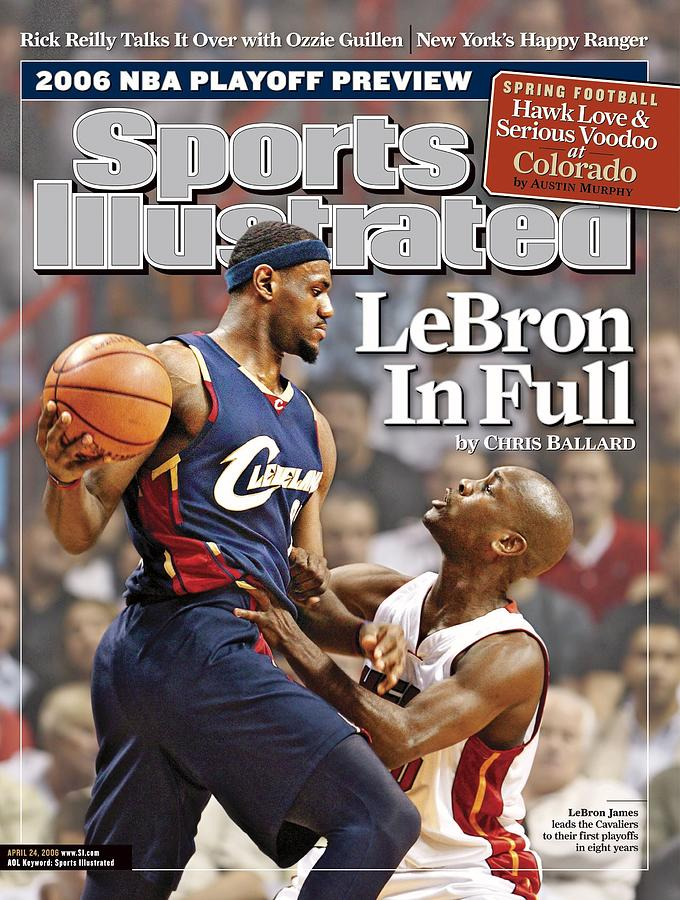 Cleveland Cavaliers LeBron James... Sports Illustrated Cover Photograph by Sports Illustrated