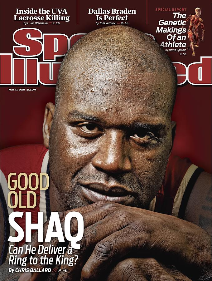 Cleveland Cavaliers Shaquille Oneal Sports Illustrated Cover Photograph by Sports Illustrated