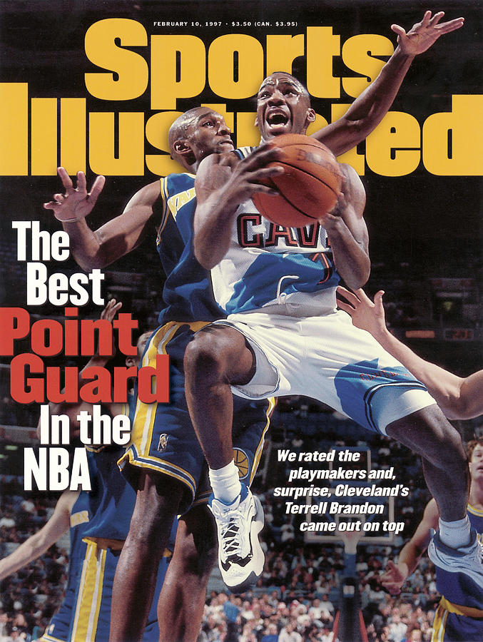 Cleveland Cavaliers Terrell Brandon... Sports Illustrated Cover Photograph by Sports Illustrated