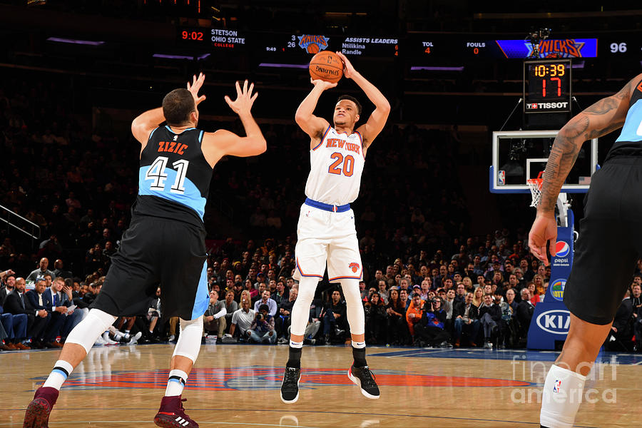 Cleveland Cavaliers V New York Knicks Photograph by Jesse D. Garrabrant