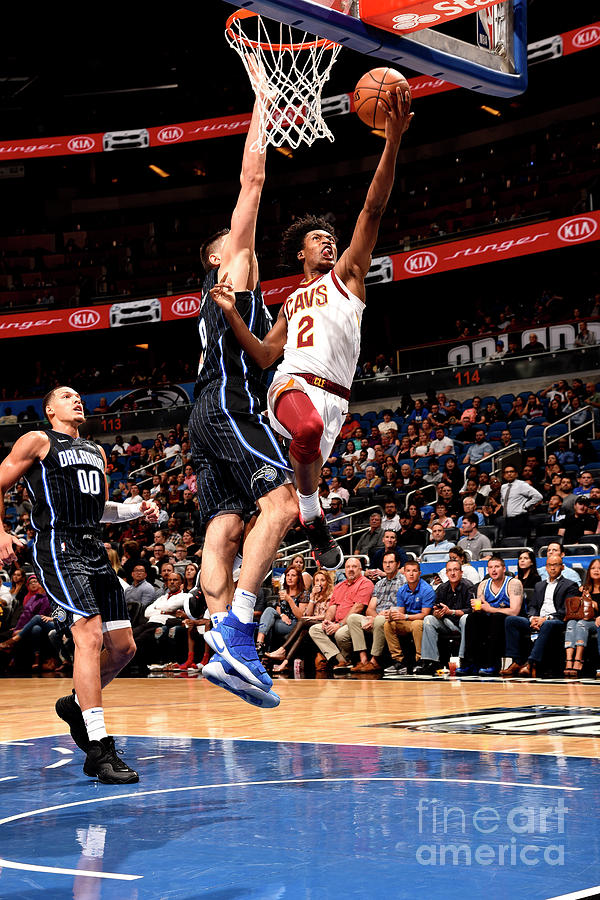 Cleveland Cavaliers V Orlando Magic Photograph by Gary Bassing