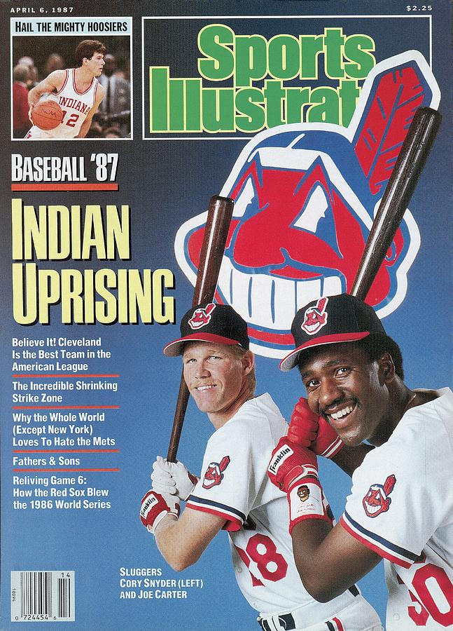 Cleveland Indians Cory Snyder And Joe Carter, 1987 Mlb Sports Illustrated Cover Photograph by Sports Illustrated