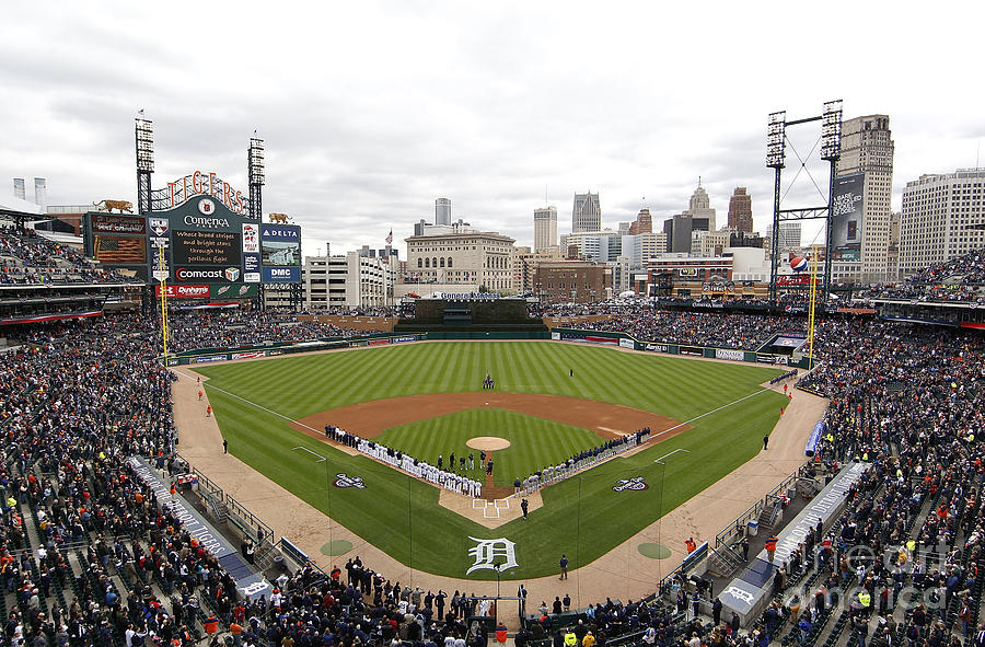 Cleveland Indians V Detroit Tigers Photograph by Gregory Shamus