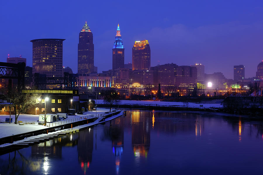 Cleveland River Reflections by Clint Buhler