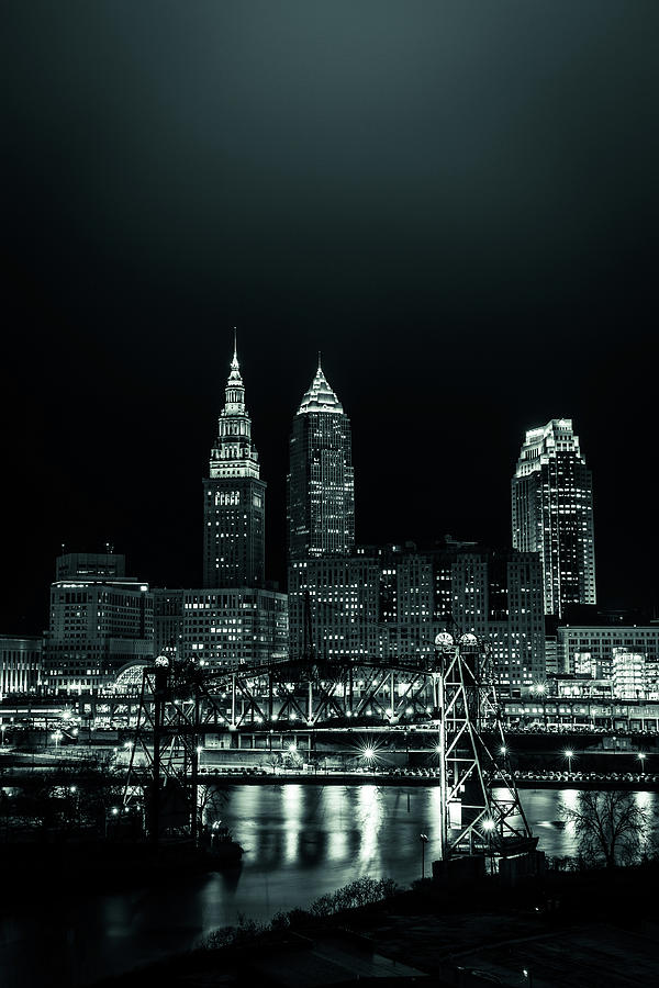 Cleveland Skyline 2 by Ryan Lima