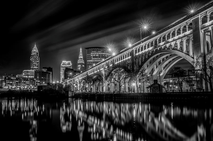 Cleveland Skyline Cuyahoga by Ryan Lima