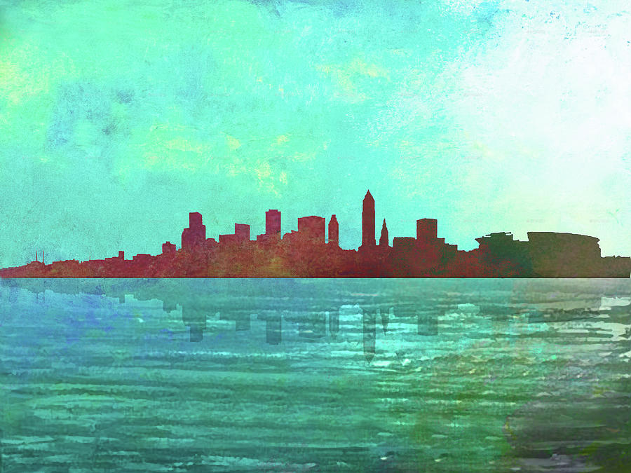Cleveland Skyline by Max Huber
