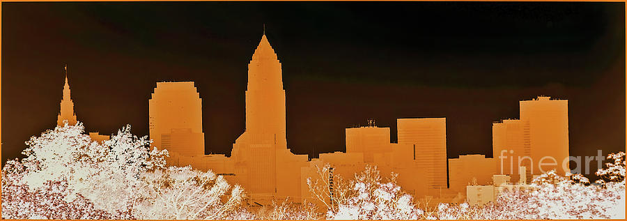 Cleveland Skyline by Randy J Heath