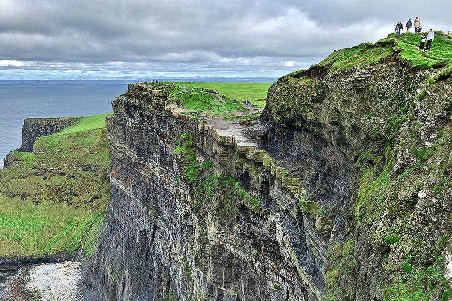 Cliff At Cliffs Of Moher Photograph