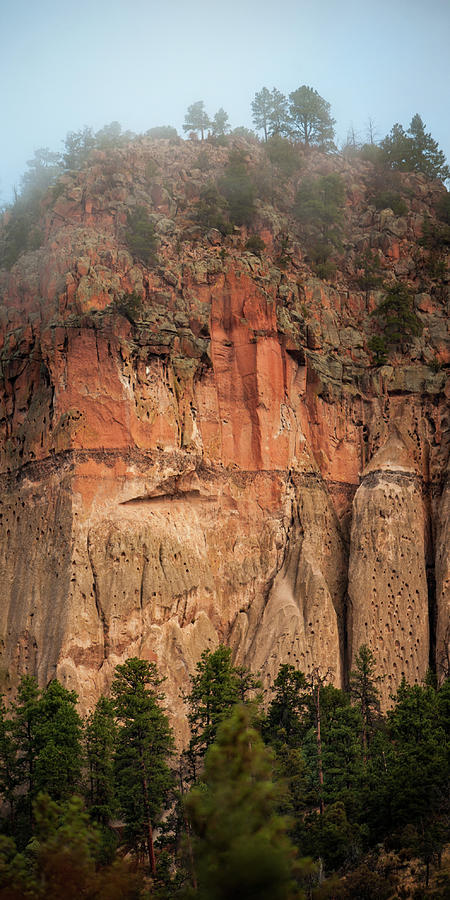 Nature Photograph - Cliff Face by Jeff Phillippi