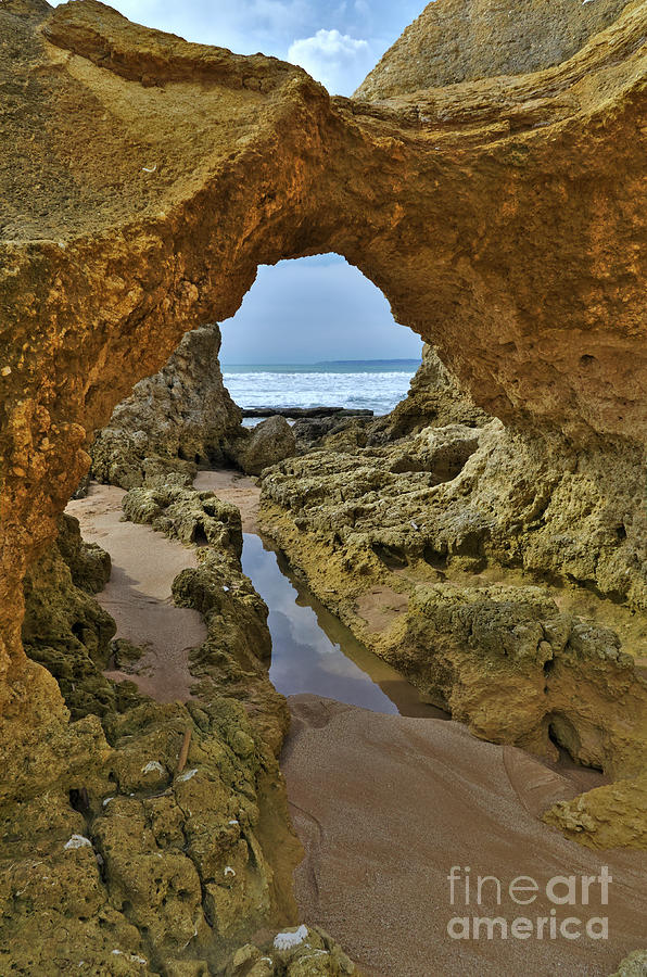 Cliff formations in Sao Lourenco Beach 2 by Angelo DeVal