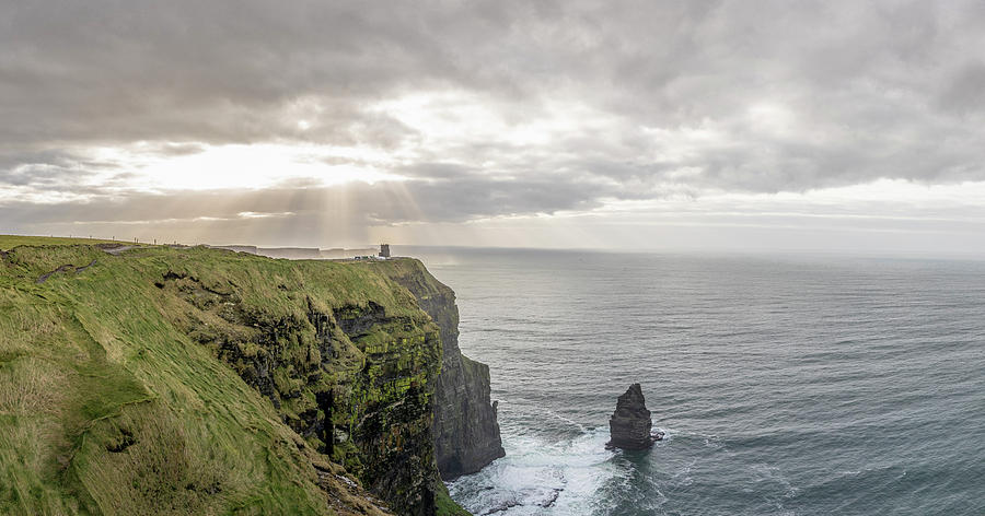 Cliffs of Moher in Ireland  by John McGraw