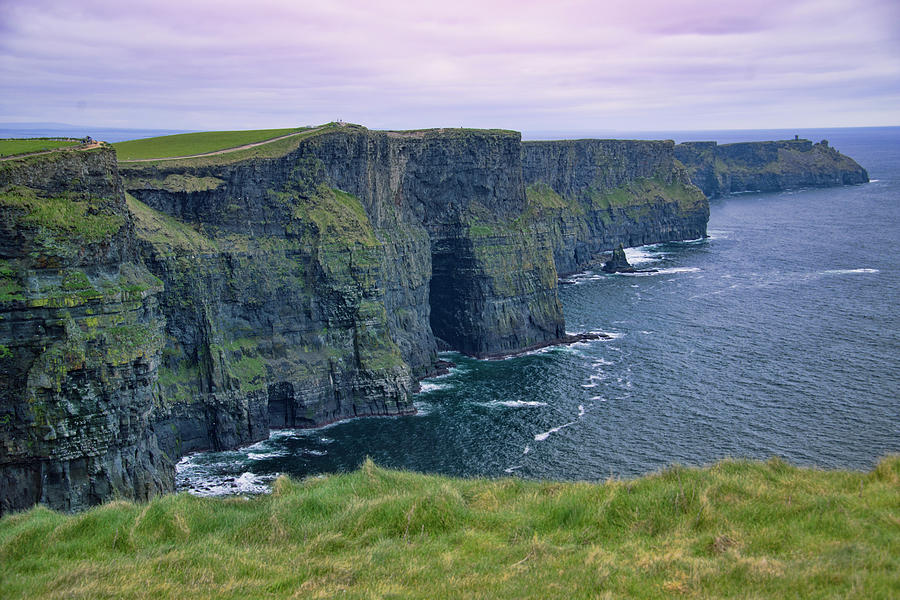 Cliffs of Moher Ireland by Curt Rush