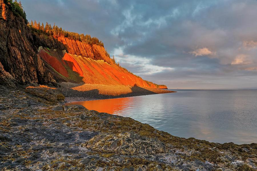 Cliffs on Fire by Jurgen Lorenzen