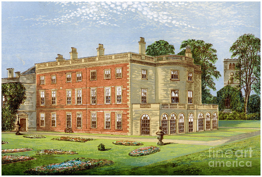 Clifton Hall, Nottinghamshire, Home Drawing by Print Collector
