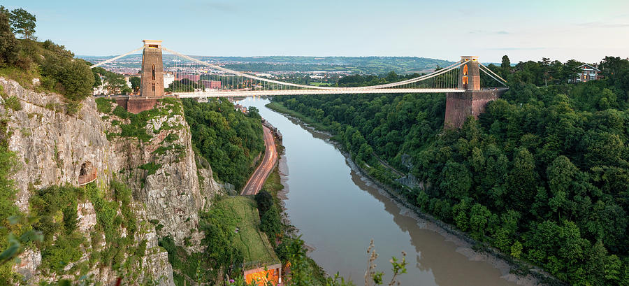 Clifton Suspension Bridge At Dusk Photograph by Daugirdas Tomas Racys