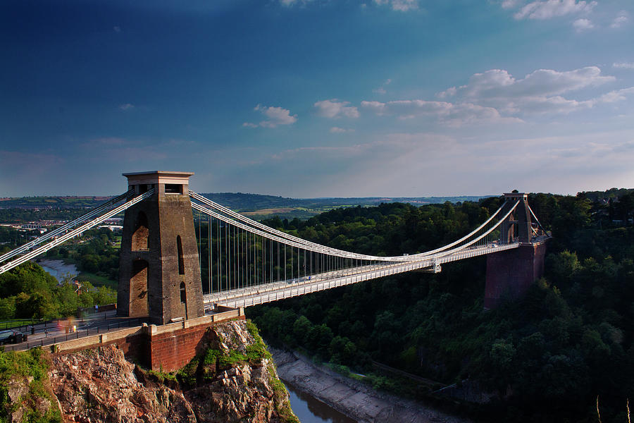 Clifton Suspension Bridge Photograph by Clive Rees Photography