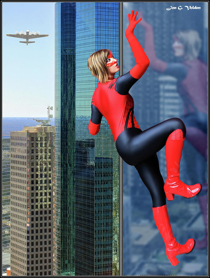 Climb Of The Spider Woman by Jon Volden