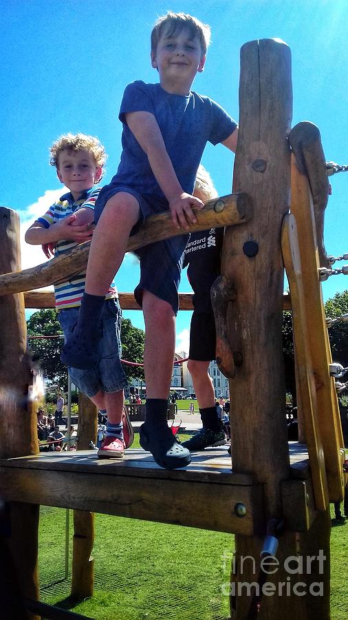 Climbing Frame by Joan-Violet Stretch