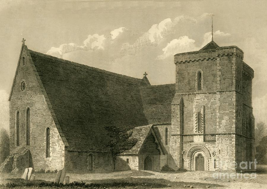 Climping Church Drawing by Print Collector
