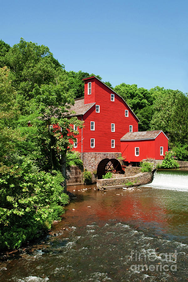 Red Mill Nj Photograph - Clinton Mill IIi by Regina Geoghan