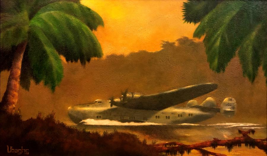 Boeing 314 Painting - Yankee Clipper by Bryan Ubaghs