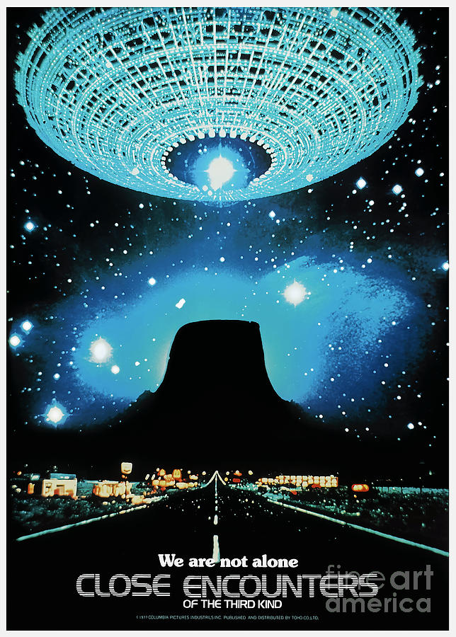 Close Encounters of The Third Kind 1977 by Kultur Arts Studios