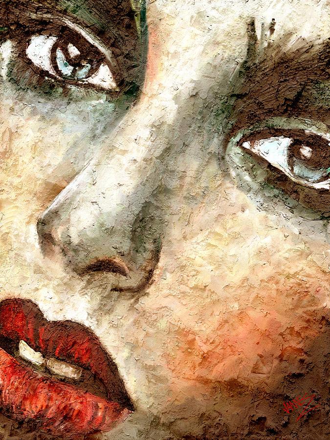 Close up artwork by James Shepherd