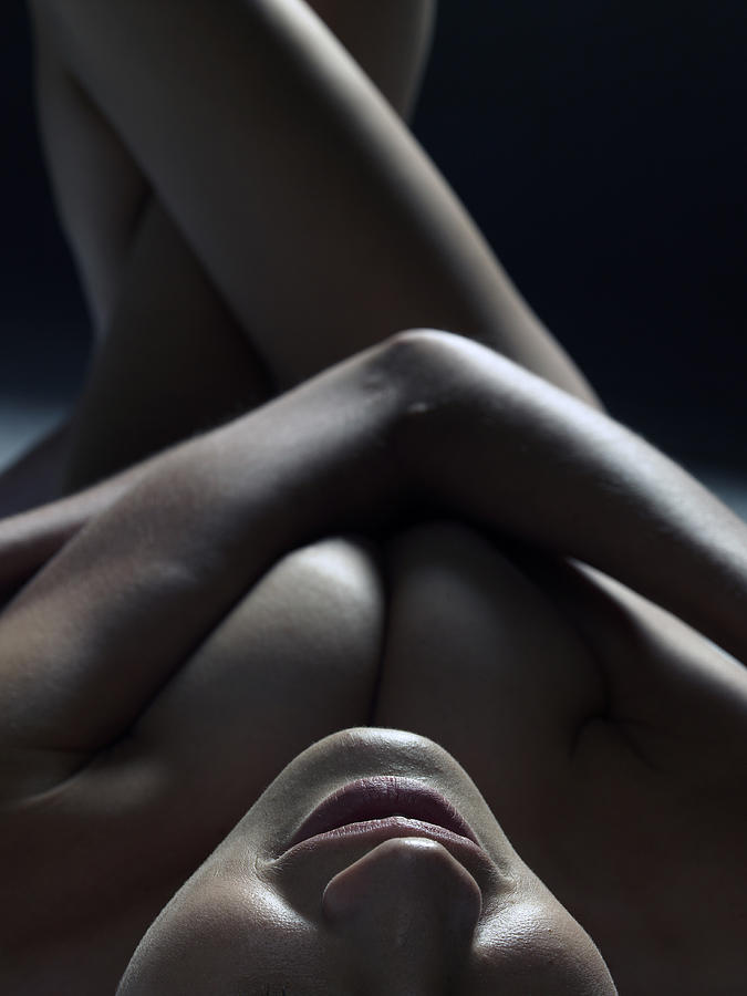 Close Up Of A Beautiful Nude Woman Photograph by Win-initiative/neleman