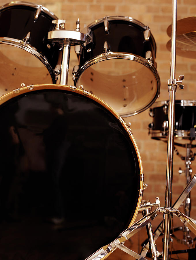 Close-up Of A Drum Kit Photograph by Digital Vision.