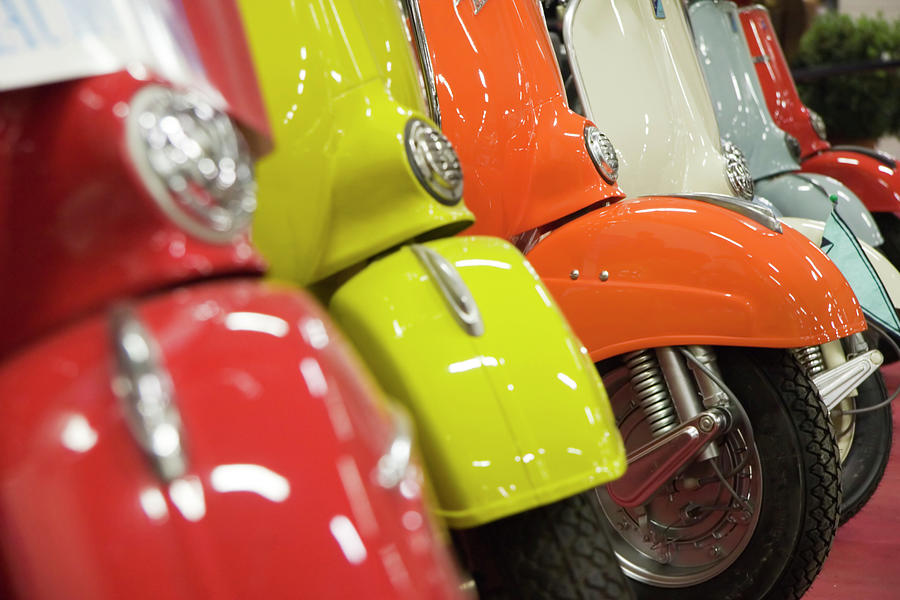 Close Up Of Colorful Vintage Italian Photograph by Maikid