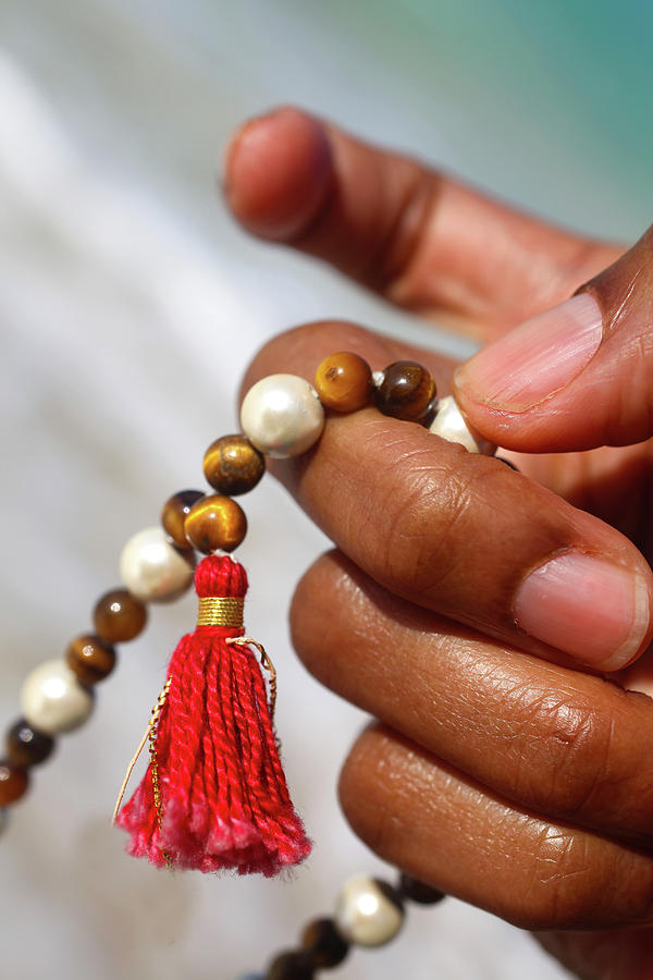 Close Up Of Female Hand With Prayer Photograph by Elke Selzle