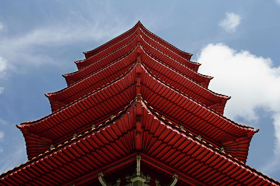 Close Up Of Pagoda Roof Photograph by Asia Images