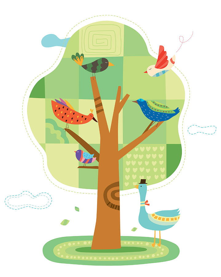 Close-up Of Tree Digital Art by Eastnine Inc.