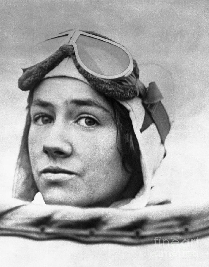 Close Up Portrait Of Anne Morrow Photograph by Bettmann
