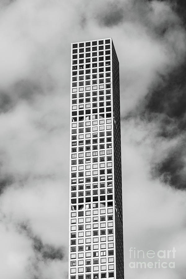 Close-up view of 432 Park Avenue Condominiums  in Midtown Manhat by Edi Chen