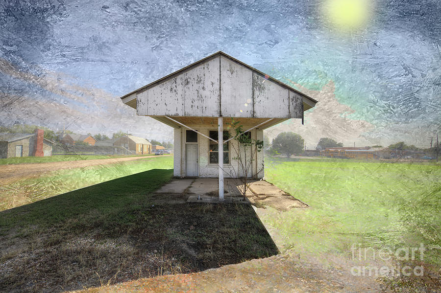 Hdr Digital Art - Closed For The Season by Larry Braun