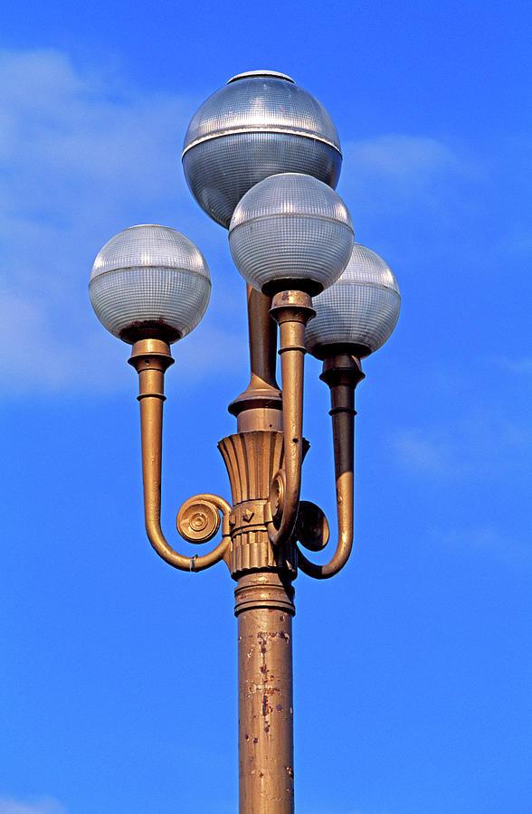 Closeup Of A Lamp Photograph by Murat Taner