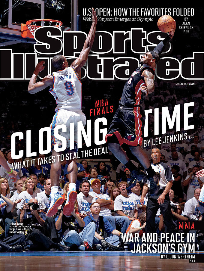 Closing Time What It Takes To Seal The Deal Sports Illustrated Cover Photograph by Sports Illustrated