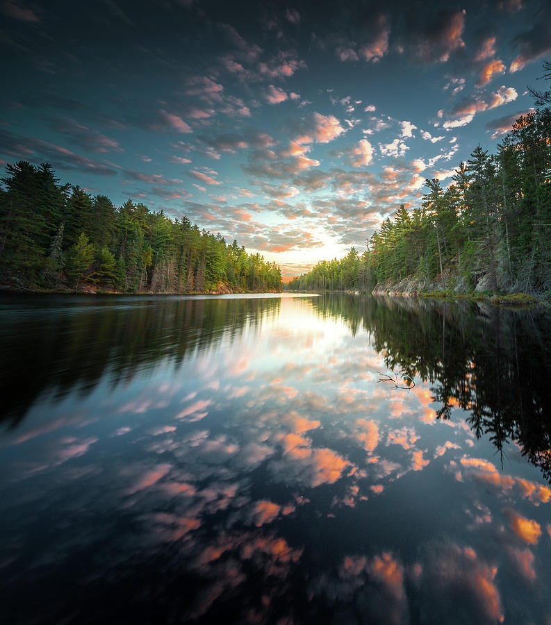 Cloud Atlas / Boundary Waters, Minnesota  by Nicholas Parker
