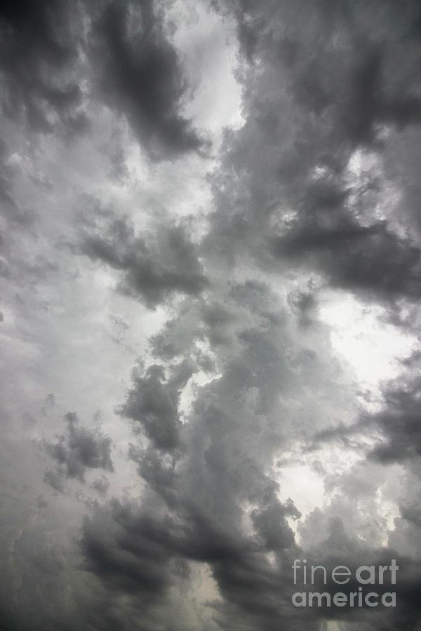 Clouds Photograph - Cloud Dragon by Nicki Hoffman