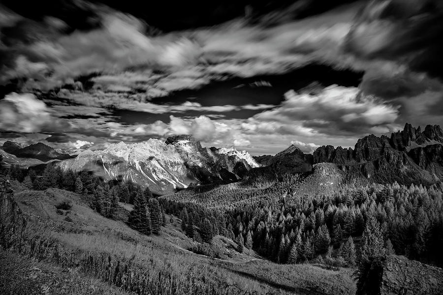 Dolomites Photograph - Cloud Movement In The Dolomites II by Jon Glaser