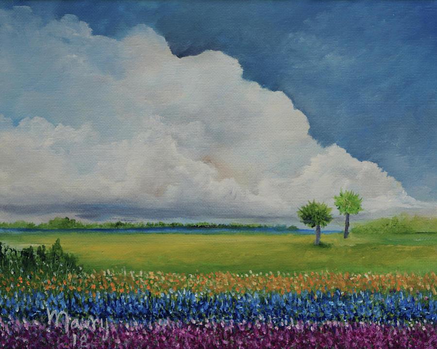 Cloud Near The Garden by Alicia Maury