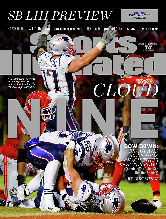 Cloud Nine. Bow Down Brady And Belichick Reach Their 9th Sports Illustrated Cover Photograph by Sports Illustrated