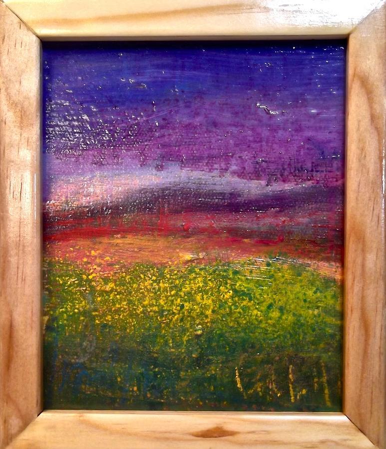 Cloud Purple by Les Leffingwell